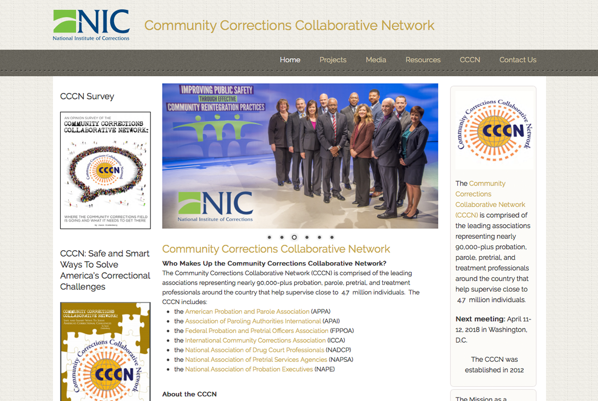Community Corrections Collaberative Network